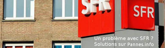 résoudre une panne de SFR