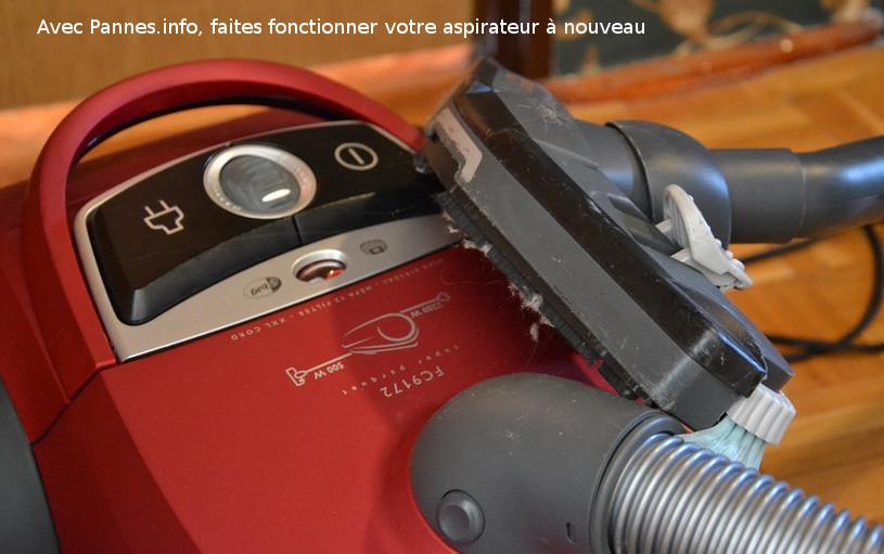 Comment réparer un aspirateur en panne.