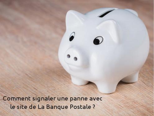 Pannes site web banque postale.