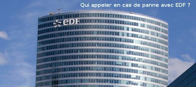 panne EDF