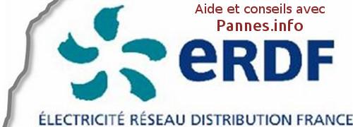 qui contacter en cas de panne avec ERDF