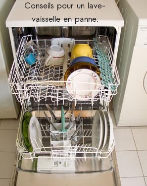 dépanner un lave-vaisselle