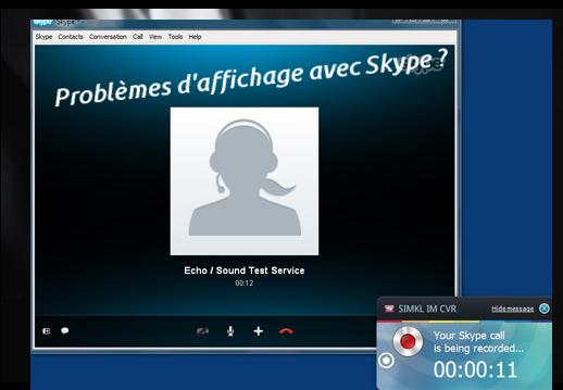 Skype qui ne marche pas.