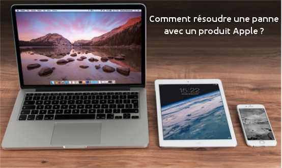 Comment joindre Apple en cas de panne