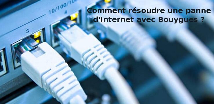 quelles solutions pour réparer internet avec Bouygues