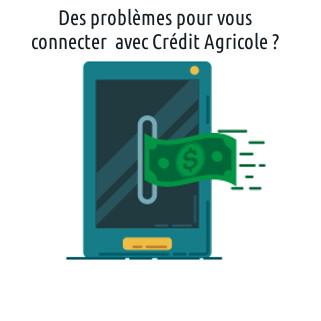 aide pour se connecter à Crédit Agricole