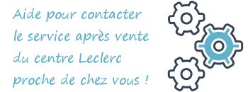 service apres vente leclerc Casteljaloux