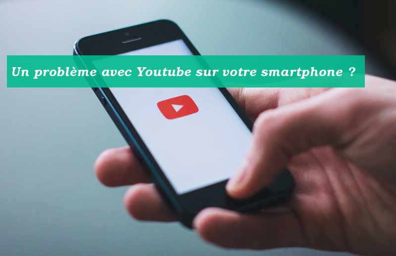 youtube appli en panne