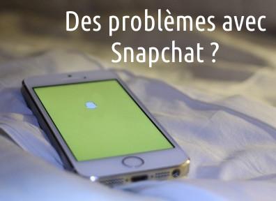 aide avec Snapchat