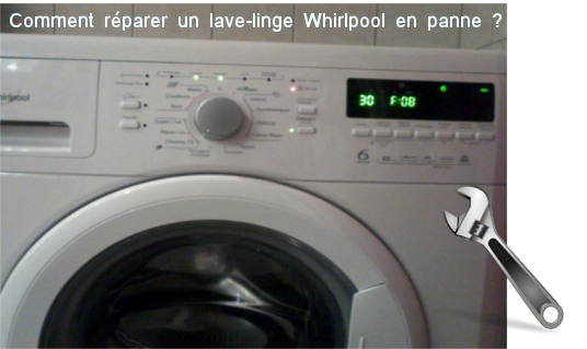 lave linge whirlpool qui ne marche plus comment d panner une machine laver whirlpool. Black Bedroom Furniture Sets. Home Design Ideas