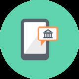 accéder à la banque postale sur mobile