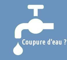 Solutions en cas d'eau coupé