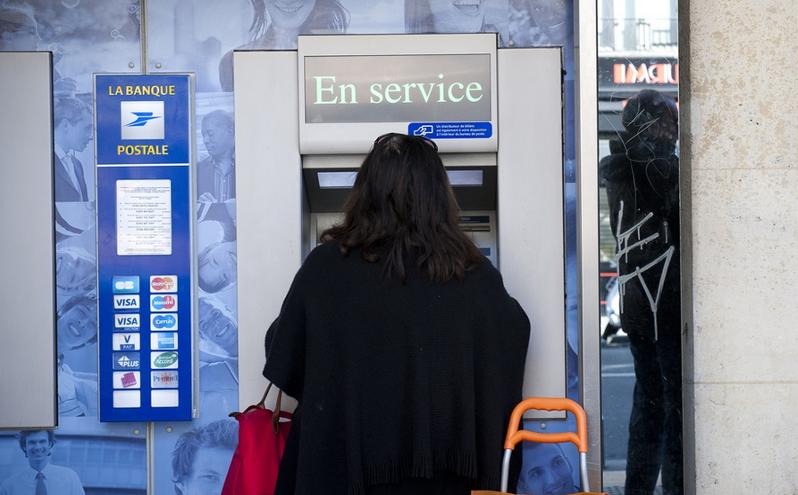 problèmes de retrait avec la banque postale