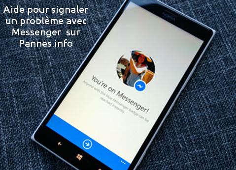 solutions pour facebook messenger qui ne fonctionne plus