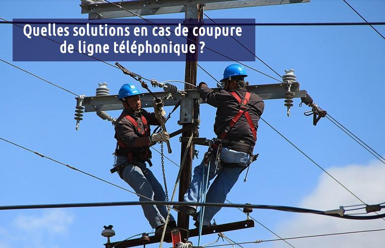 coupure ligne téléphone
