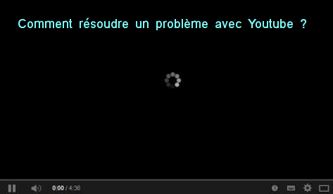 problèmes avec Youtube